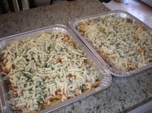 Spinach Baked Ziti Everything Is Homemade