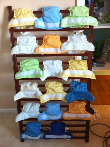 Diaper Drying Rack Everything Is Homemade