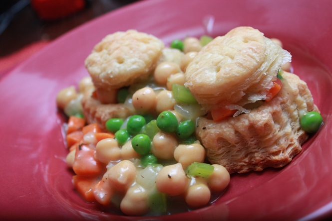 Chickpea Pot Pie – Everything Is Homemade